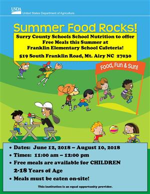 Summer Meals Begin June 12