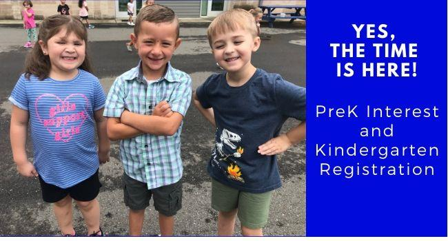 All elementary schools in the Surry County School System are accepting kindergarten registration for