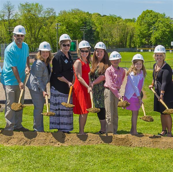 DOBSON ELEMENTARY BREAKS GROUND