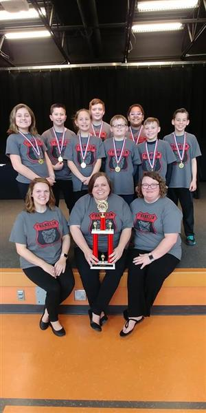 Battle of Books Team and Coaches