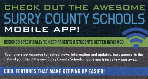 Surry County Schools Mobile App