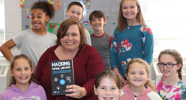Franklin Elementary School Library Media Program Spotlighted in Book