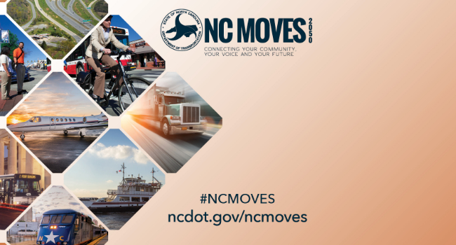 NC Moves 2050: Help Shape North Carolina's Transportation