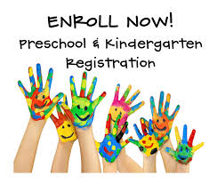 Pre-K and Kindergarten Registration for 2019-2020