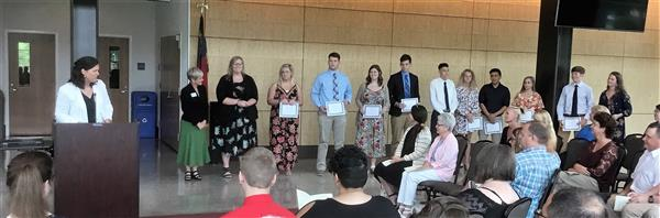 NSHS Students Receive The Armfield Scholarship