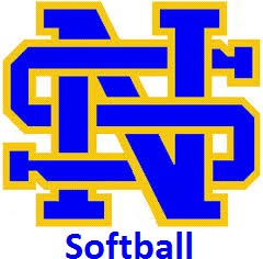 NSHS Softball Logo