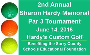 2nd Annual Sharon Hardy Memorial Par 3 Tournament