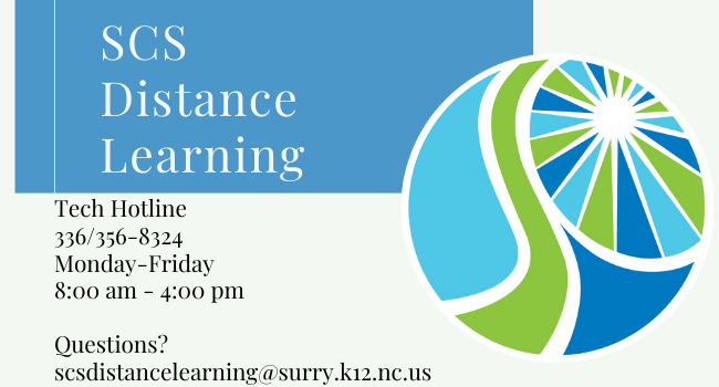 Pilot Mountain Elementary Distance Learning Plan