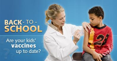 Meningitis and Tdap vaccinations are Due by October 30th