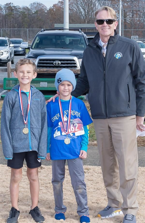 Surry County Schools GROW Strong Teams Complete Third Annual 5K