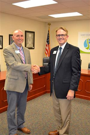 CTE Teacher Meeting & New CTE Director Named