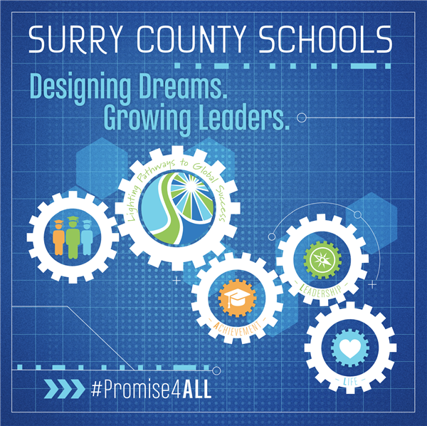 Surry County Schools Receives Five-Year School Climate Transformation Grant from  the US Department of Education for $3,722,612