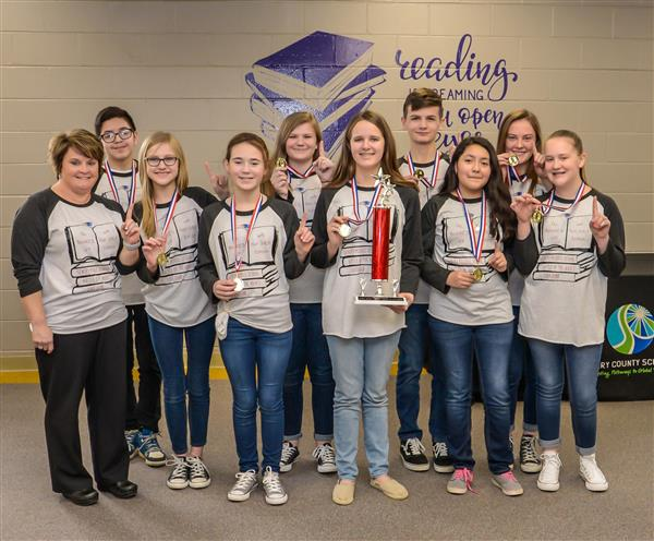 Middle School Battle of the Books District Level Competition Held