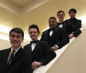 Five From Surry County Schools Selected to Northwest All-District Honor Band