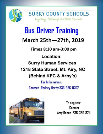 Bus Driver Training Class