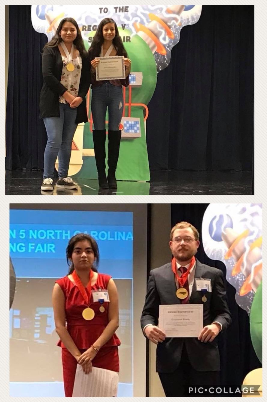 Surry Early College High School Regional Science Fair Winners