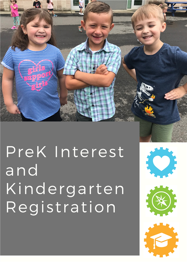 PreK Interest and Kindergarten Registration for 2020-2021