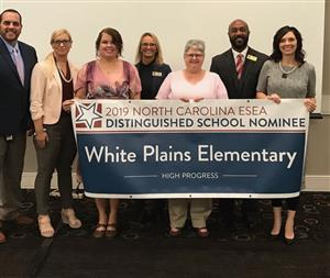 White Plains Elementary Recognized as Title I Distinguished School